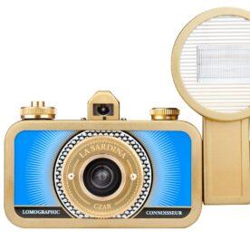 Lomography La Sardina cámara con flash modelo Czar